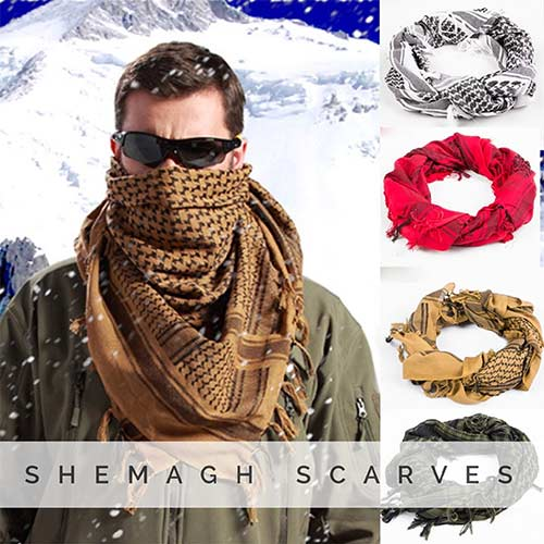 Shemagh Arab Scarves