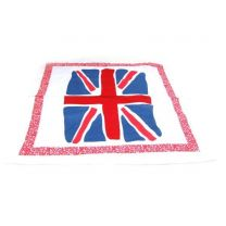 Union Jack Flag Bandana Painted