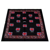 Black Union Jack Flag Bandana - London