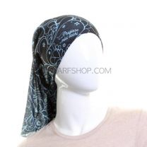 Navy Blue Abstract Multifunctional Bandana