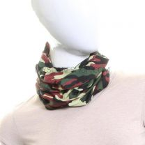 Green and Brown Army Camouflage Multifunctional Bandana