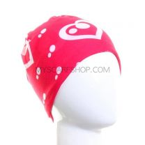 Red with White Hearts Multifunctional Bandana