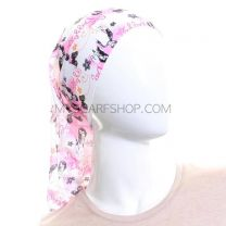 Pink and Black Dazzle Multifunctional Bandana