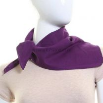 Plain Cotton Bandana - Purple