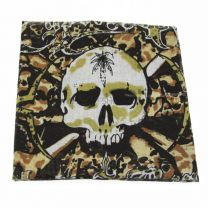 Cypress Hill Skull and Cross Bones Cotton Bandana