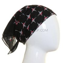 Black Mini Pirate Skulls & Swords Bandana