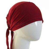 Tie Back Hijab Bonnet Burgundy Al Amira
