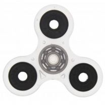 Clear Glow in the Dark 3-Arm Fidget Spinner