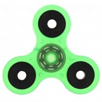 Green Glow in the Dark 3-Arm Fidget Spinner