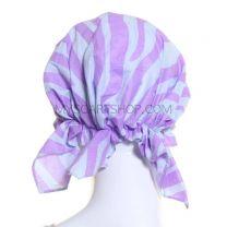 Headwrap Lilac Zebra Print