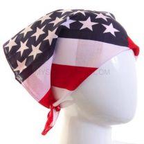 American Flag Bandana