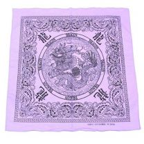 Chinese Dragon Lilac Bandana