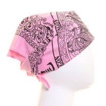 Chinese Dragon Pink Bandana