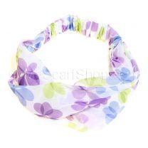 Lilac Floral Headwrap