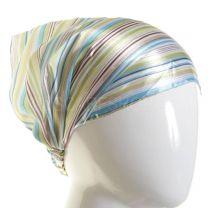 3in1 Headwrap Green Stripes