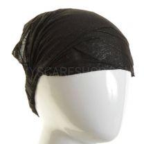 3in1 Black Glitter Headwrap