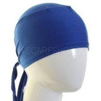 Tie Back Hijab Bonnet Royal Blue Al Amira