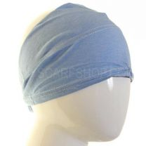 Cotton Under Scarf Pale Blue Headband (Egyptian Bonnet)