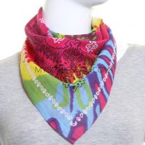 Paisley Cotton Bandana - Multicoloured