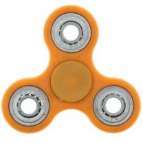 Orange 3-Arm Fidget Spinner