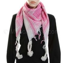 Pink (Shemagh) Arab Scarf