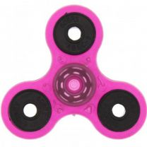 Pink Glow in the Dark 3-Arm Fidget Spinner
