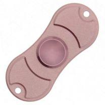 Fidget Spinner Metallic Pink 2-Arm Aluminium