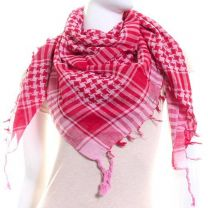 Red & Pink Arab Scarf