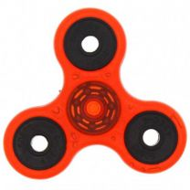 Red Glow in the Dark 3-Arm Fidget Spinner