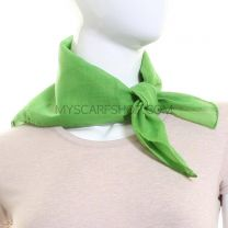 Lime Plain Cotton Bandana
