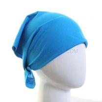 Plain Cotton Bandana - Turquoise