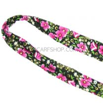 Pink Floral Wire Headband
