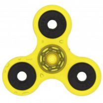 Yellow Glow in the Dark 3-Arm Fidget Spinner